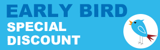 Early Bird Special Sprcial discount