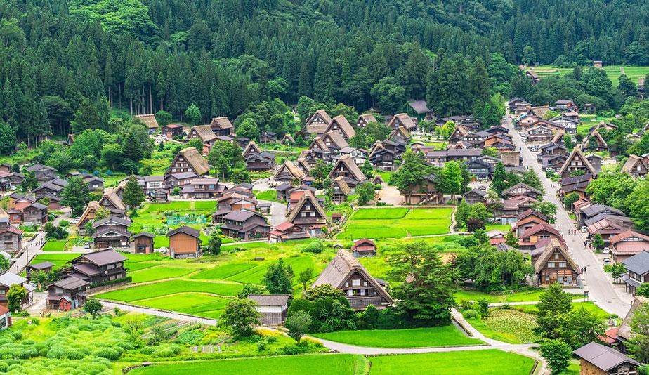 Hasil gambar untuk shirakawa village