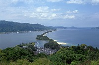Three most famous views in Japan / Amanohashidate