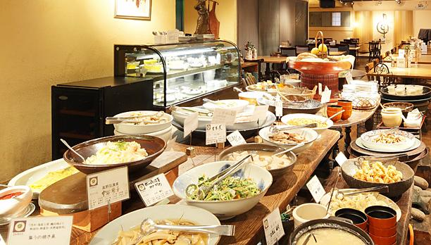 Buffet for breakfast (image)